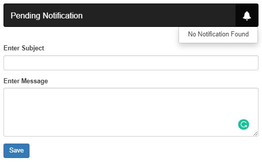 PHP notification alert when a new record is inserted using AJAX